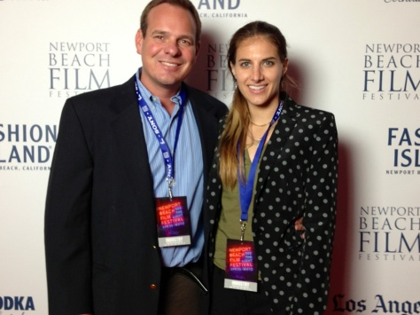 Ostrow and Company film scouts attend The Newport Beach Film Festival opening!